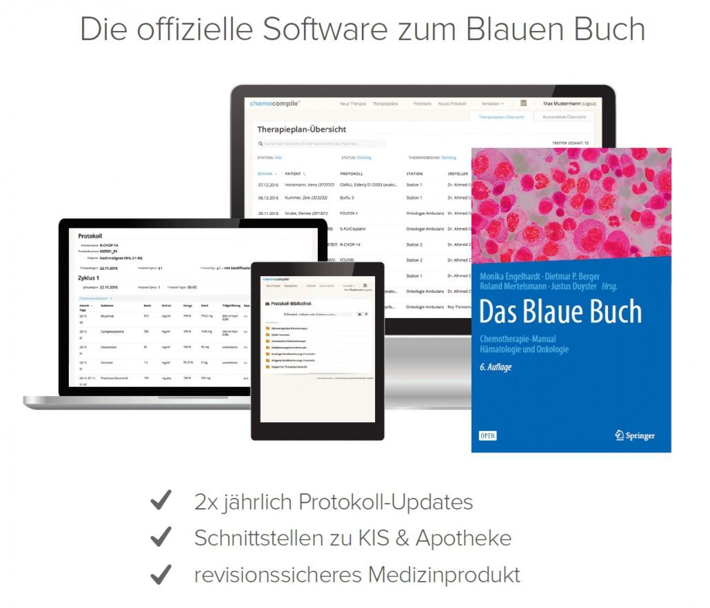 Die offizielle Software zum Blauen Buch
